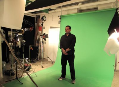 Green screen mm studio roma