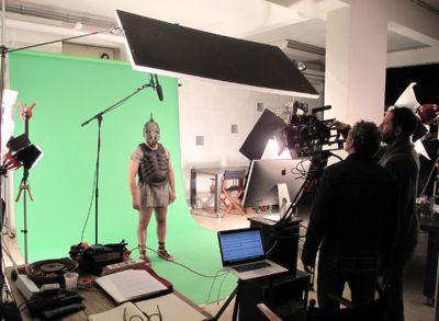 Green screen mm studio roma